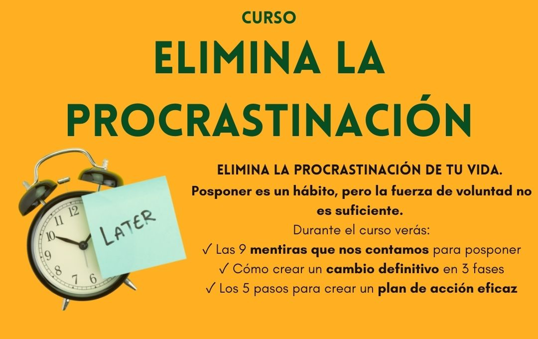 Lee más sobre el artículo Eliminar la Procrastinación